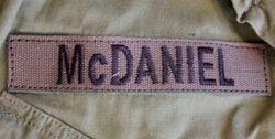 Special Forces. Jim McDaniel.