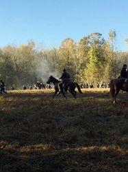 Cavalry action