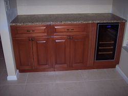 bottom cabinets