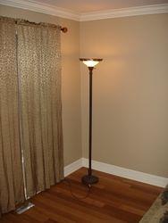Custom floor and moldings