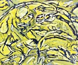 Yellow, Black & White #3