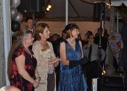 Marsha Judd, Christine Angeli and Paulette Marshall