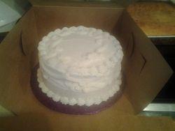 Personal dessert cake