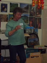 Bug expert Margaret Holmes
