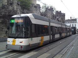 Siemens #6338 running along Geldmunt.