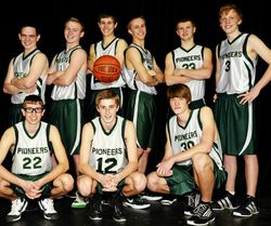 Boys' Varsity Basketball Team 2012