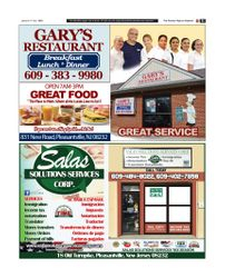 The Society Page en Espanol - GARY'S RESTAURANT / SALAS SOLUTIONS CORP