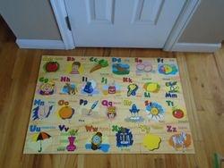 Books Are Fun Wood Alphabet Floor Puzzle - $12