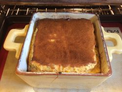 Smoked Chile Corn Souffle Baking