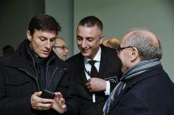 Me and Javier Zanetti