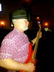 Ray putting down the bass
