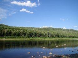 St. John river at camp