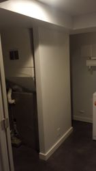 Laundry room Floating wall