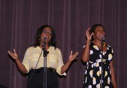 Camille Thomas and Linda Lee (Praise Team)