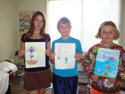 reiki class for children May 2010