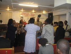 Jubilee choir singing