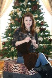 Knitting Christmas Dress