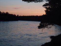 sunset on Th' John