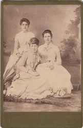 Josie, Bella & Netta Felkner of Milford, Indiana