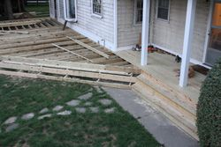 Building the steps