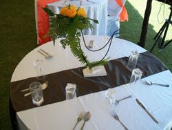 table centerpieces for hire