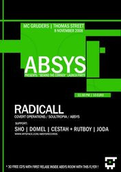 2008.11.08 - Absys Launch - Radicall @ McGruders - Dublin