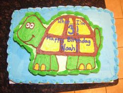 Two Tier Turtle Cake (View 1)
