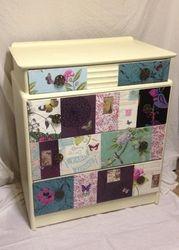 Stunning decoupage drawers