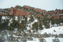 Red Rock & Snow