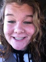 Sissy got her braces off