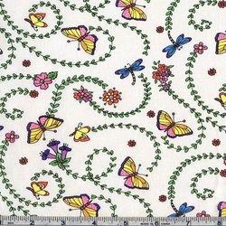 Butterflies & Dragonflies - 72 (COTTON)