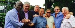 Clive Myers, Lloyd Ryan, Bob Barratt, Steve Lynskey, Steve Grey, Mal Sanders and Tony White