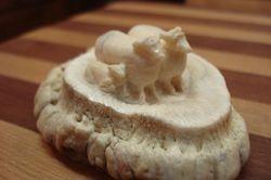 Sheep on Elk Horn Crown