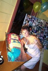 Allison 21st Birthday & Farewell Cake