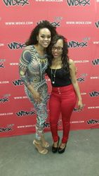 Demetria McKinney and Iesha Marie at R.Kelly - Black Panties Tour