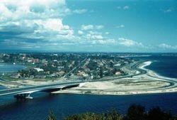 223 South Perth & Narrows Bridge 1958