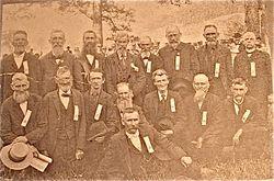 Reunion of the Grafton Men