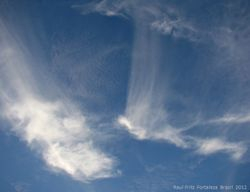 Cirrus in the afternoon sky