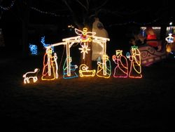 The Cul-de-Sac Nativity Scene