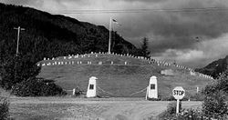 Sitka National Cemetery 1954