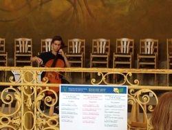 Bach suite nr 1 in de Kolonnade