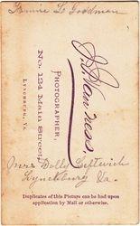 J. J. Van Ness of Charlottesville, Virginia
