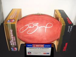 ST. LOUIS RAMS SAM BRADFORD ROOKIE SIGNED AUTHENTIC FOOTBALL