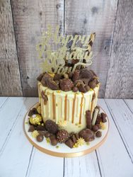 Salted Caramel chocolate drip cake