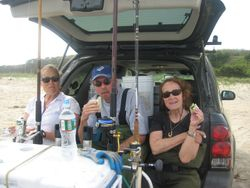 Steve London, Martha and me