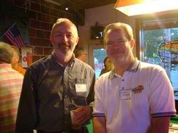 Rex Evans and Larry Stevens