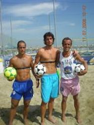 Isa (brasile) - Gianni Munari (lecce) - Danny Mordenti (istruttore)