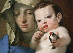 Tiepolo, Madonna, c. 1740, Washington DC