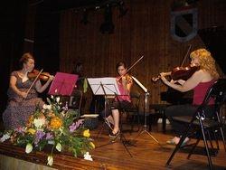 Ensayo para el concierto de profesores