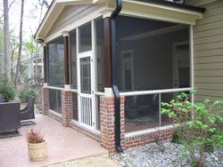 Finished Screened Porch Raleigh, NC